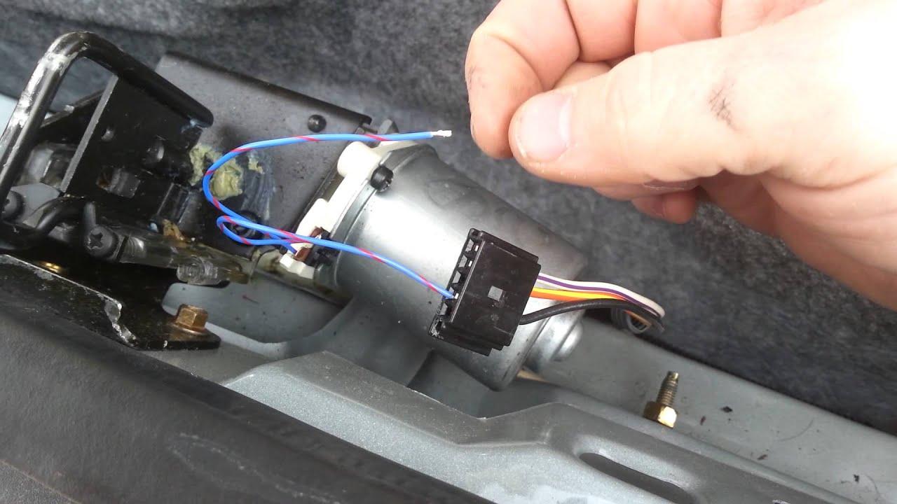 towncar pull down motor fix [ 1280 x 720 Pixel ]