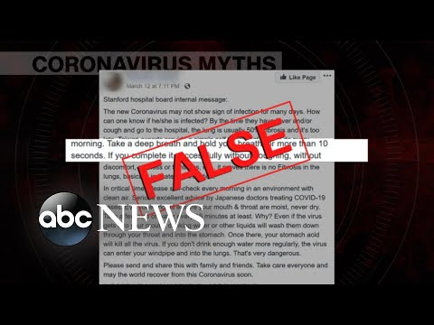 Coronavirus myths: How to identify which viral posts aren't true