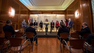 Rueda de prensa posterior al Consejo de Gobierno extraordinario