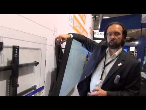 видео: chief manufacturing. Настенные крепления для ТВ серии fusion. Что нового в 2015?