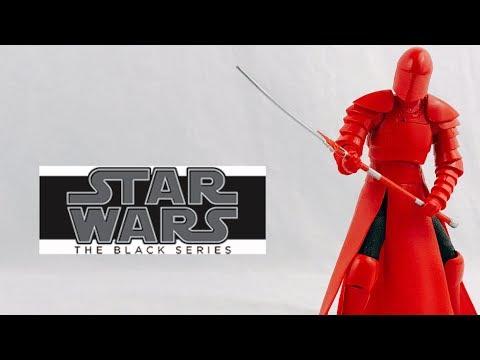 Star Wars The Black Series Elite Praetorian Guard Review
