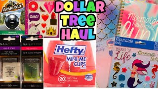 Dollar Tree Haul | NEW Food Notebooks Beauty Items & More