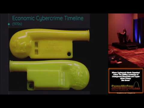 ShowMeCon 302 Where Cypherpunk Meets Organized Crime The Shifting Landscape of Underground Economies