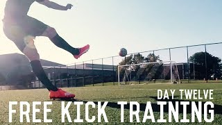 Free Kicks and Shooting Training | The Pre-Preseason Training Program | Day Twelve