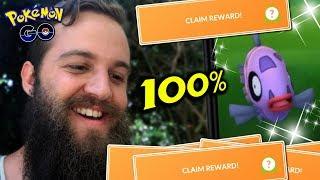 30 FEEBAS TASKS - AMAZING SHINY & 100% LUCK! (POKEMON GO FEEBAS EVENT 2019)