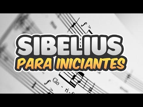 TUTORIAL SIBELIUS 7 PARA INICIANTES | Começando a fazer uma partitura
