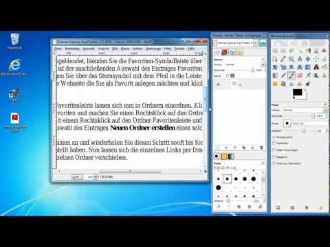 GIMP - PDF Dokument In JPEG Umwandeln