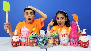 Don't Choose the Wrong Soap Slime Challenge