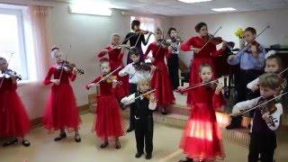 Ансамбль скрипачей Колокольчик (г. Севастополь) - Старинный гобелен (И. Тамарин)