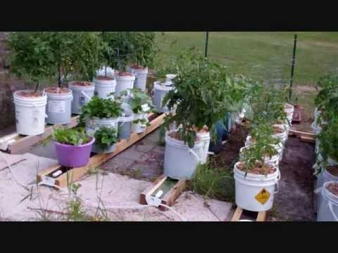 How To Hook Up Multiple Self Watering Rain Gutter Grow