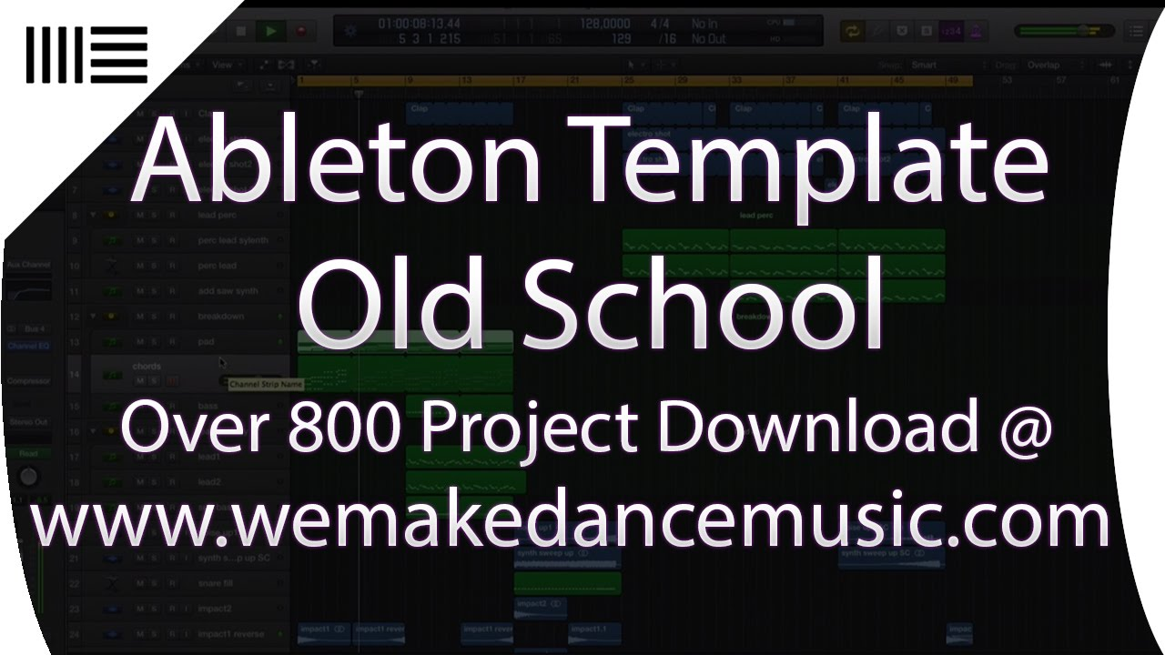 Old school deep house music production template for for Old deep house