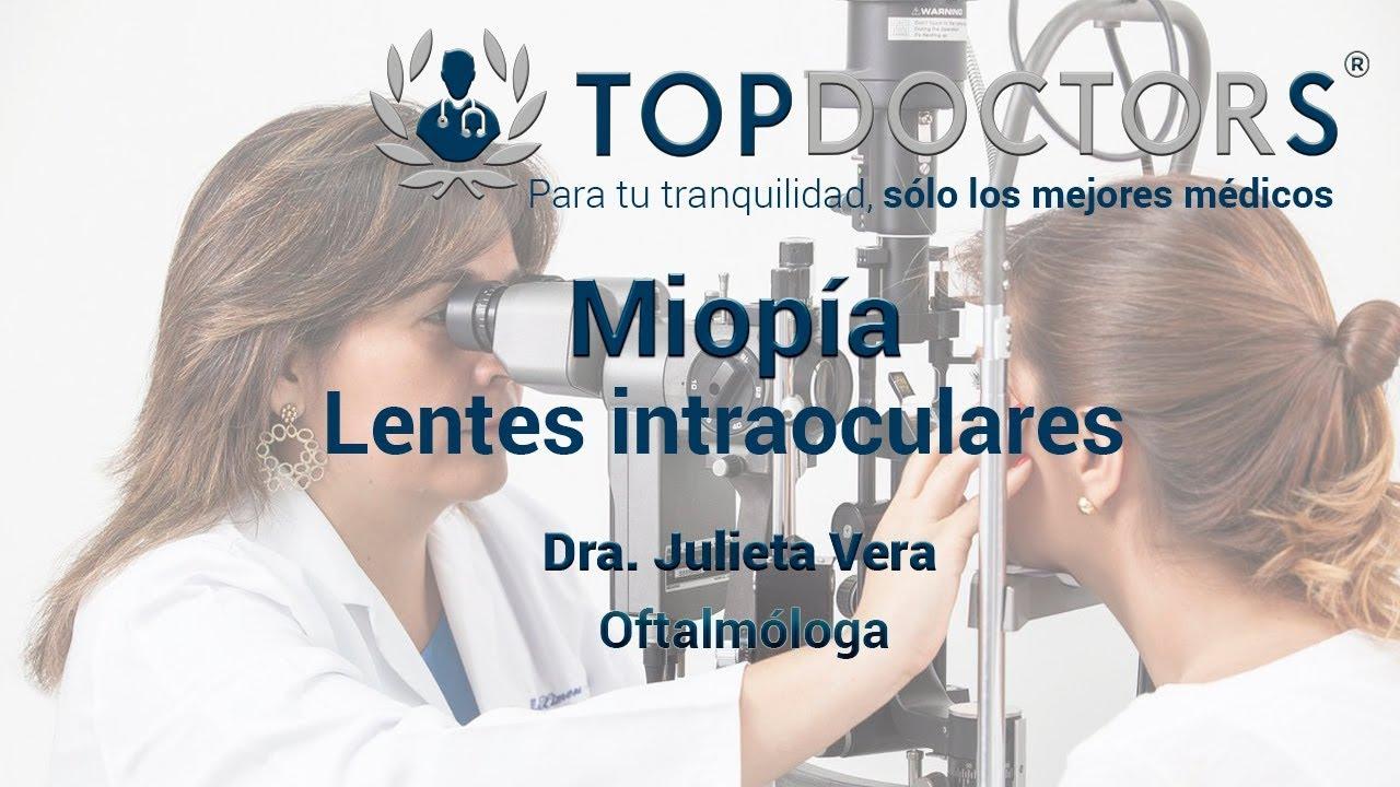 Miopía: Lentes intraoculares - Conoce todos los detalles ...