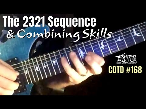 The 2321 Sequence & Combining Skills | ShredMentor Challenge of the Day #168