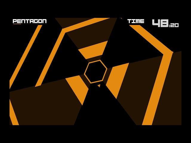 Super Hexagon #2 - прошёл второй уровень