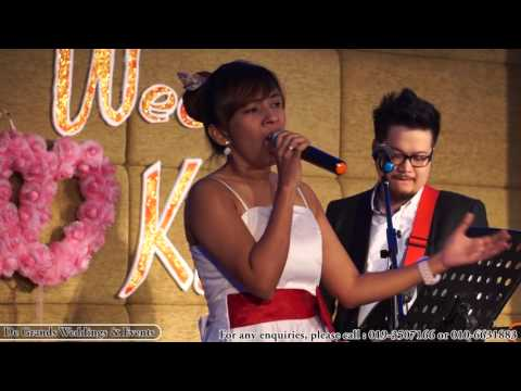 My valentine - Lauren Tan (cover) De Grands Weddings & Events , Melaka, Malaysia Wedding Live Band