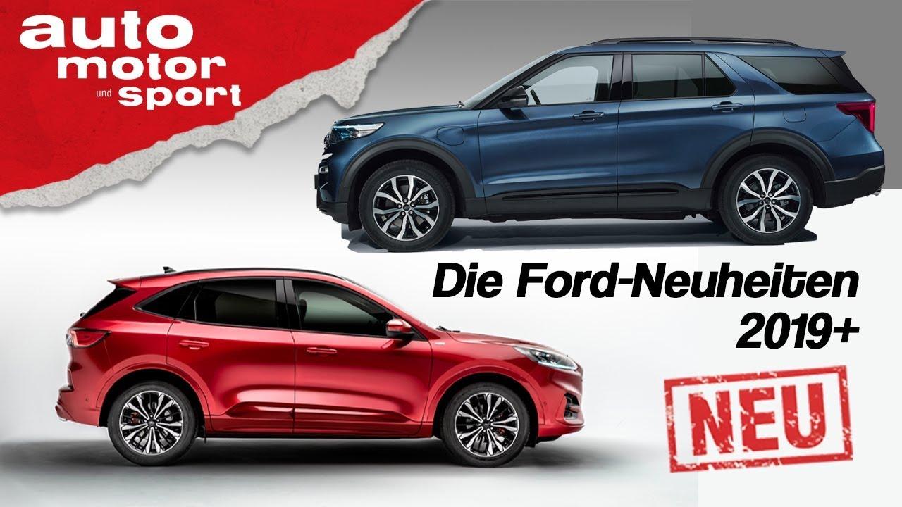 Kuga, Explorer und Elektropower: Das gibt´s bald von Ford - Erste Sitzprobe | auto motor & sport