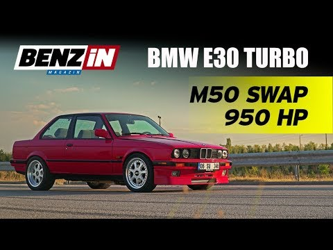 BMW E30 325 Turbo | 950 beygir M50 3.0 swap | Hayabusa katil