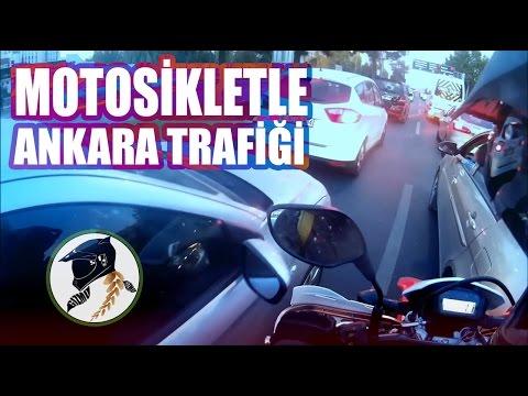 Motosikletle Ankara Trafiği
