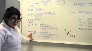 Problemas de Química Analítica con Mitzia