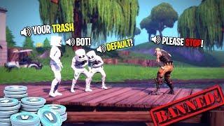 I Got Bullied by 3 Marshmello Little Kids on Fortnite... I Quit.