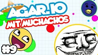NEUER REKORD - MUCHACHO PARTY | LET`S PLAY AGAR.IO