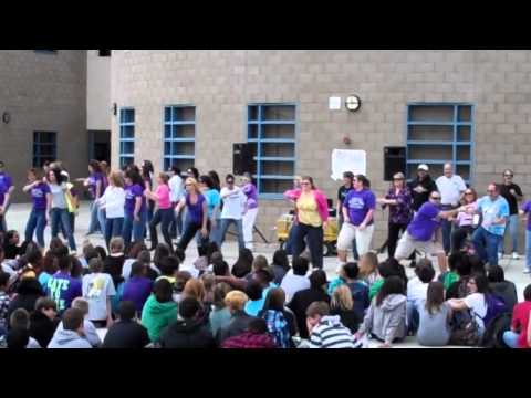Wilson C. Riles Middle School Teacher Flash Mob