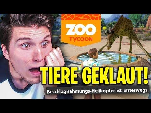 Unsere TIERE werden GEKLAUT!  Zoo Tycoon Ultimate #04