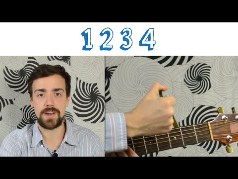 Feist - 1234 -- Quick, Simple Lesson (Chords, Strumming, Play-along)
