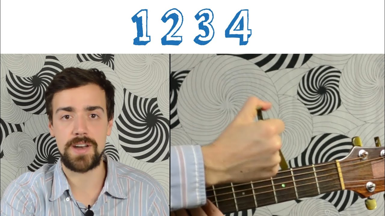 Feist 1234 Quick Simple Lesson Chords Strumming Play Along