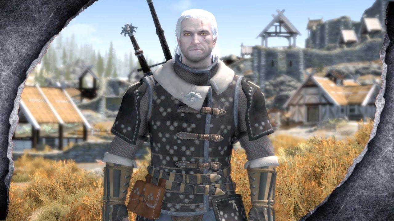 ▶Skyrim Remastered: Witcher 3 Feline Armor ♦️MOD SHOWCASE♦️ | Killerkev ✔️