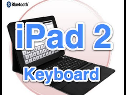Bluetooth Keyboard Case For The IPad 2