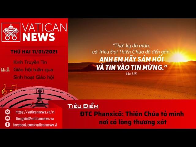 Radio: Vatican News Tiếng Việt thứ Hai 11.01.2021