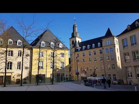 20180223 - Luxembourg: Centre Ville