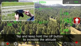Auriga Bebop - altitude limit override feature