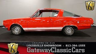 1965 Plymouth Barracuda -  Louisville Showroom -  Stock # 1582