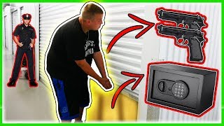 I Bought 2 Abandoned Storage Units! Found Guns And A Safe!