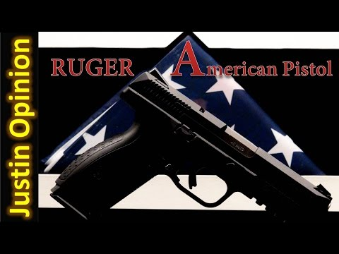 Ruger American Pistol .45 ACP - 1st Hundred