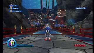 Sonic Colours - Super Sonic in Aquarium Park Zone (HD)