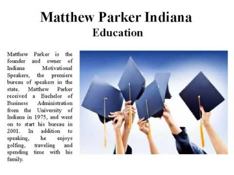Matthew Parker Indiana Founder of Indiana Motivati