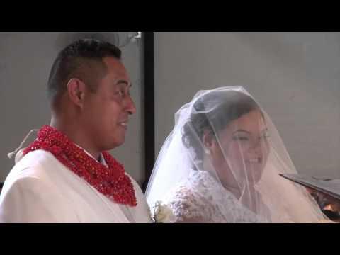 Masiu He & Natasha Baranyi - Wedding Bridal Party Church Entrance