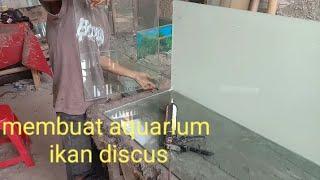 Membuat Aquarium ikan discus
