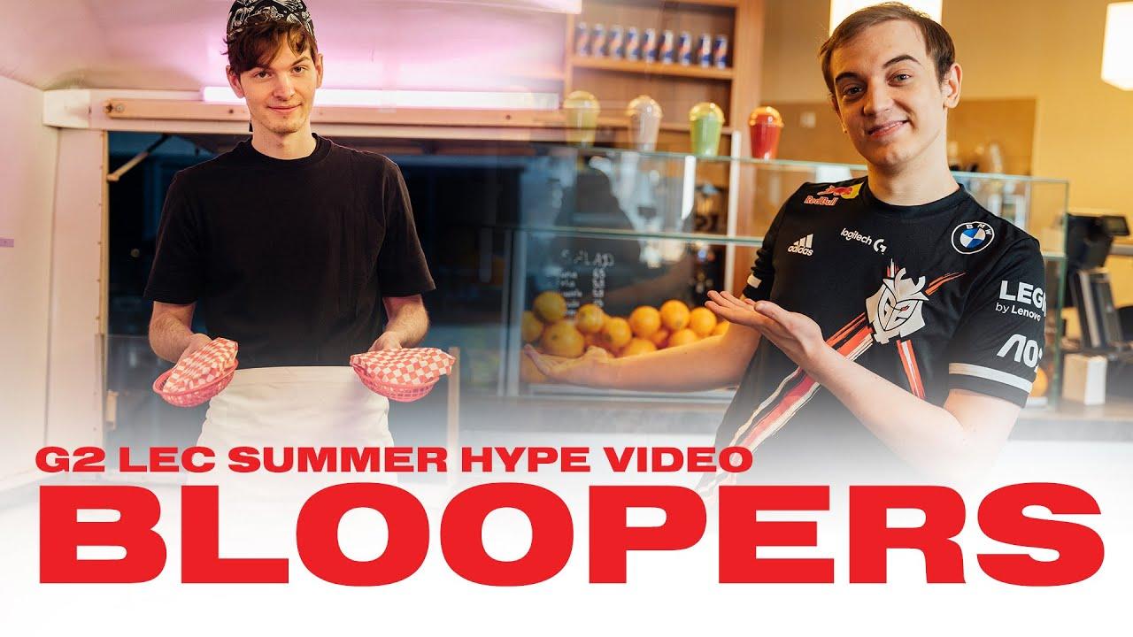 Rekkles can buy Perkz!? | G2 Esports LEC Summer Hype Bloopers 2021