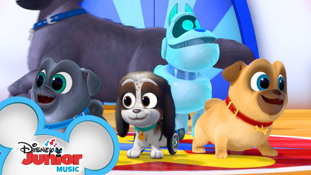 Puppy Playcare Song Music Video Puppy Dog Pals Disney Junior Youtube