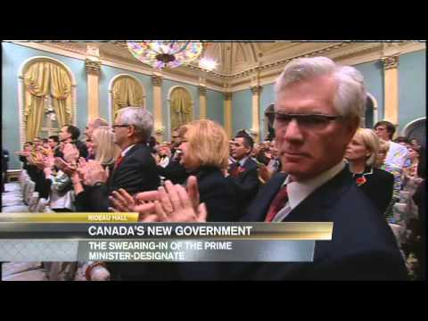 Prime Minister Justin Trudeau and Cabinet of Ministers Swearing In Ceremony November 4, 2015