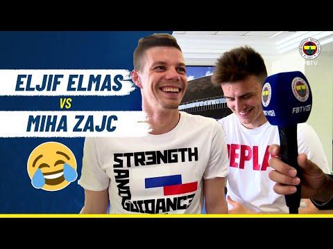 Eljif Elmas Miha Zajc'a Meydan Okudu!  😂 (Slovenya - Makedonya)