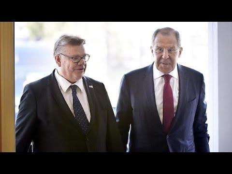 Russia's Lavrov in Finland to discuss NATO and Ukraine