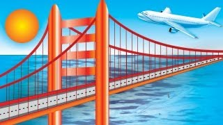 Speed Art Corel Draw - Golden Gate