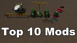 Farming Simulator 2013: Top 10 Best Mods Of 2013
