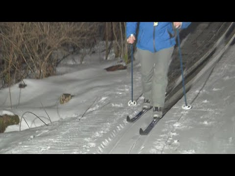 Giving cross country skiing a try