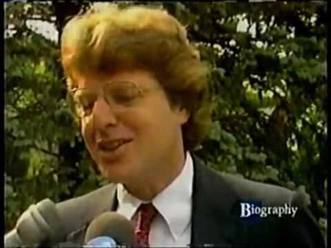 HQ Jerry Springer 1998 A&E Biography Interviews